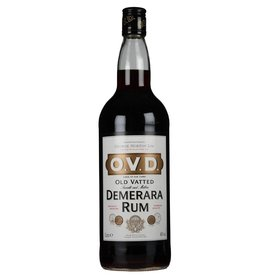 Old Vatted Demerara Rum O.V.D. Old Vatted Demerara - Guyana