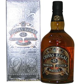 Chivas Regal 12 Years Old Whisky 1 Liter Gift box