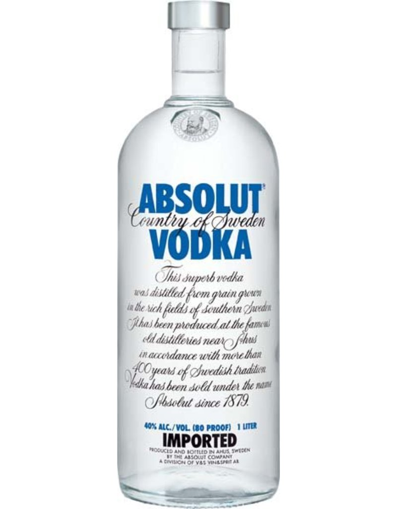 Absolut Absolut Vodka Blue 1,0L 40,0% Alcohol