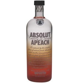 Absolut Absolut Vodka Apeach 1,0L