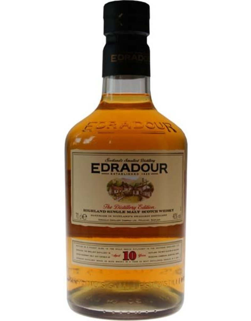 Edradour Edradour 10 Years Old Malt Whisky 700ml Gift box