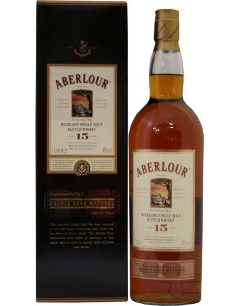 Aberlour Aberlour 15 Years Old Double Cask Malt Whisky 1 Liter Gift box