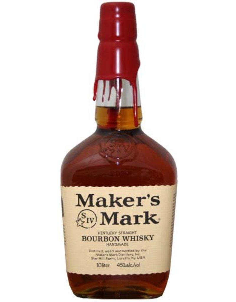 Makers Mark 1000 ml Bourbon Whiskey Maker s Mark