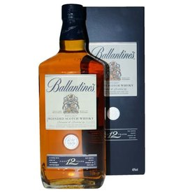 Ballantines 12 Years Old Scotch Whisky 1 Liter Gift box