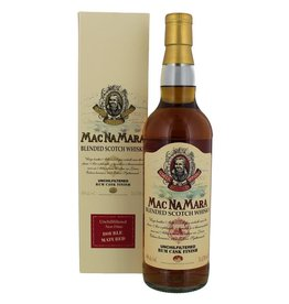 Macnamara Rum Finish Blended Whisky 700ml Gift box