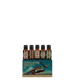 The Bitter Truth Cocktail Bitters Travelers Set Gift Tin 5x20ML
