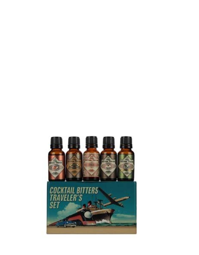 The Bitter Truth The Bitter Truth Cocktail Bitters Travelers Set Gift Tin 5x20ML 38,2% Alcohol