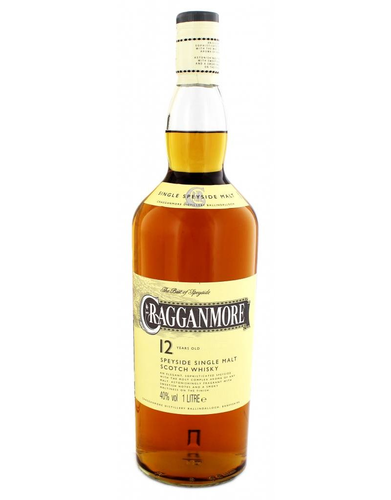 Cragganmore Cragganmore 12 Years Old 1 Liter Gift box