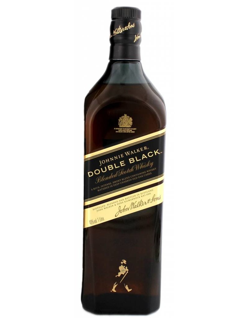 Johnnie Walker Johnnie Walker Double Black Label 1 Liter Gift box