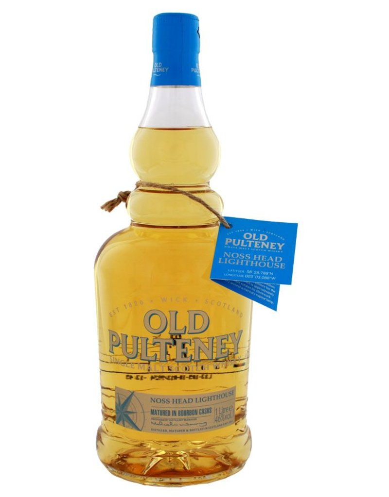 Old Pulteney Old Pulteney Noss Head Bourbon Casks 1 Liter Gift box