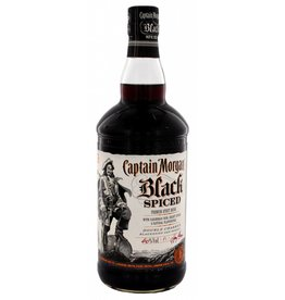 Captain Morgan Black Spiced 1.0 liter