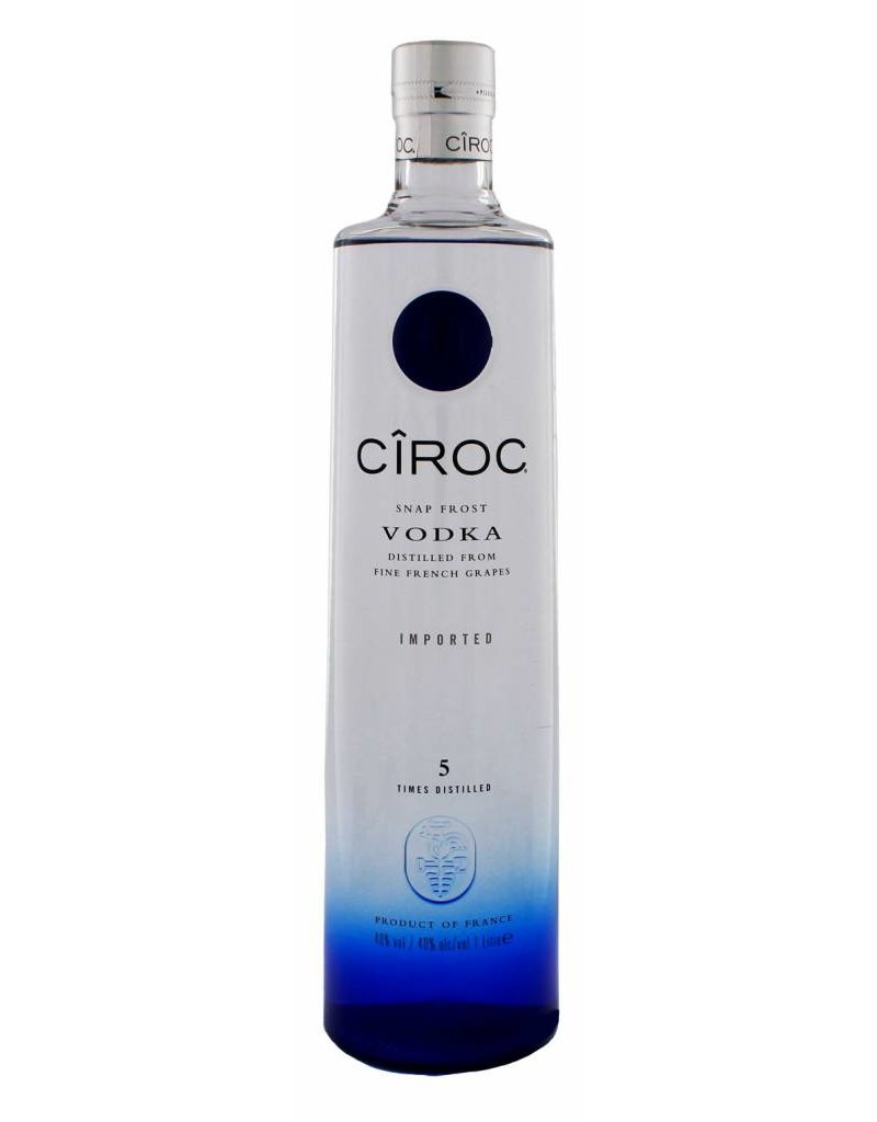 Ciroc Vodka 1.0 liter