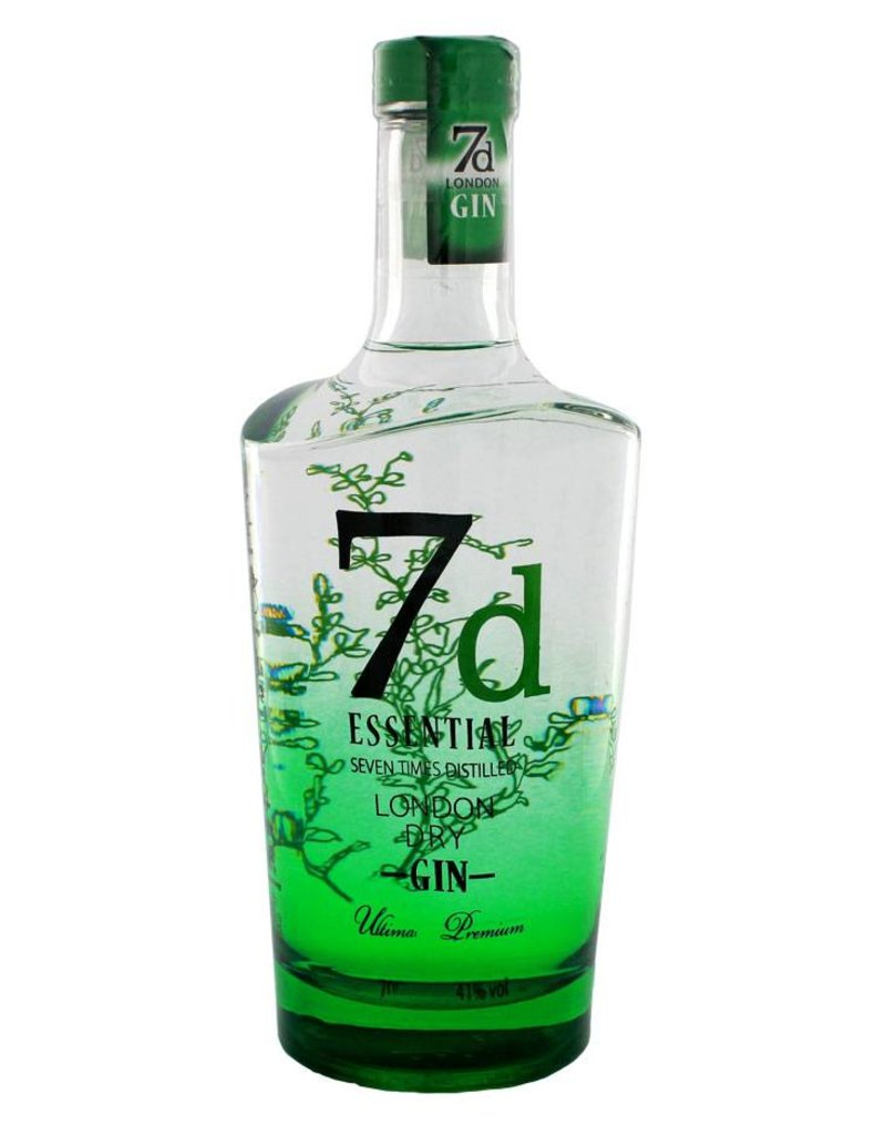 7d Essential London Dry Gin 700ml Gift box