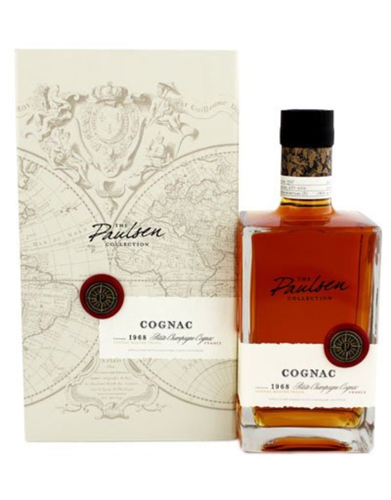 The Paulsen Collection Cognac Petit Champagne 40 Years Old 1968 700ml Gift box