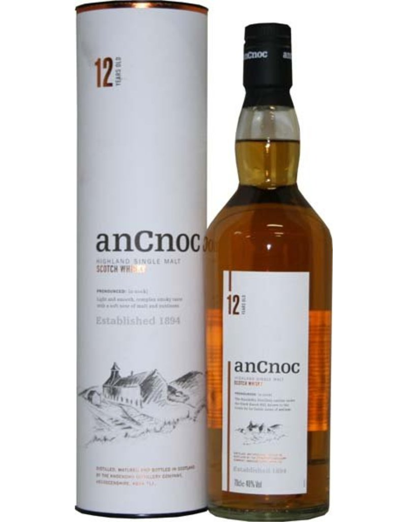 An Cnoc An Cnoc 12 Years Old Malt Whisky 700ml Gift box