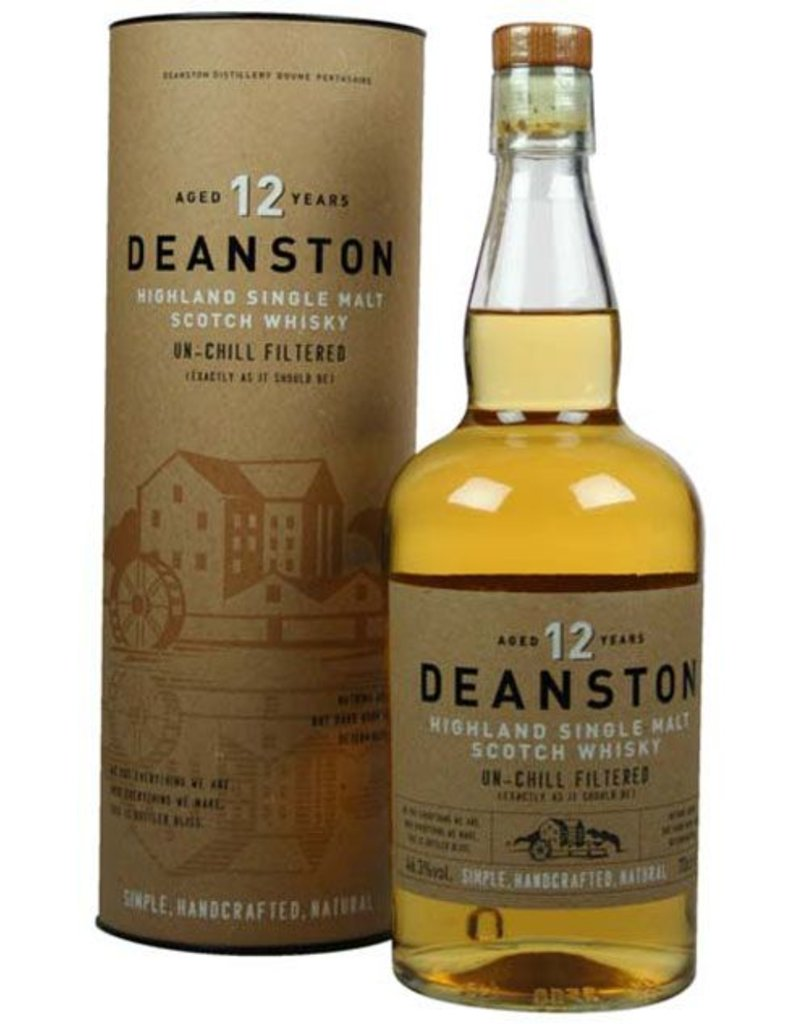 Deanston Deanston 12 Years Old Malt Whisky 700ml Gift box