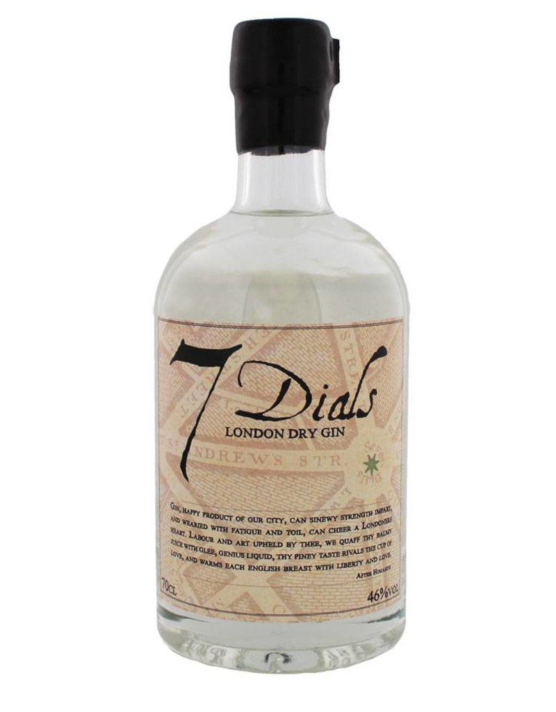 7 Dials London Dry Gin 70 cl