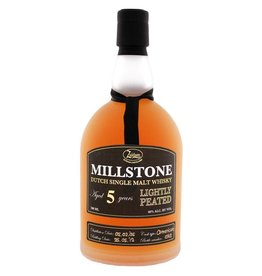 Zuidam Milstone Malt Whisky Lightly Peated 5 Years Old 70 cl