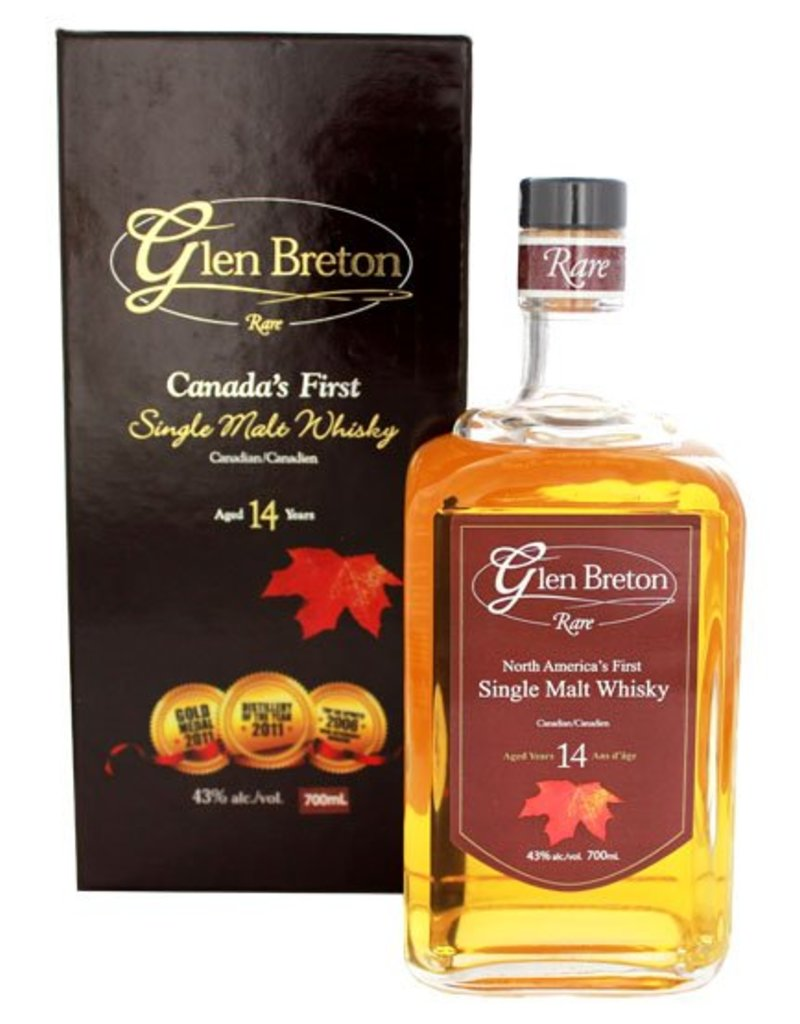 Glen Breton Glen Breton 14YO Single Malt Whisky 700ml Gift box