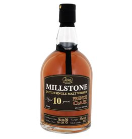 Zuidam Zuidam Millstone Malt Whisky 10 Years Old French Oak 700ml Gift box