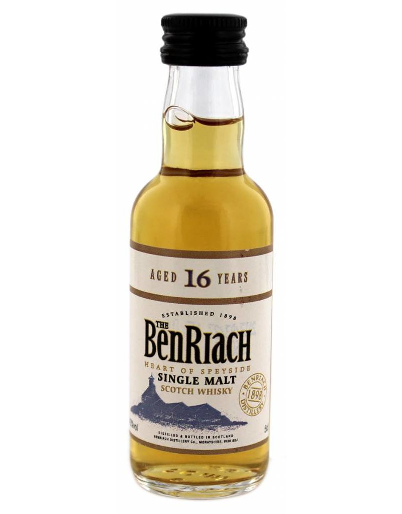 BenRiach BenRiach 16 Years Old Miniatures 50 ml