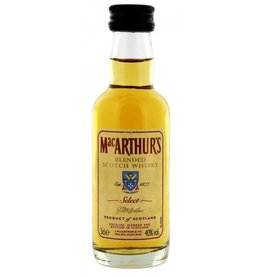 MacArthurs 3 Years Old Blended Whisky Miniatures 50 ml