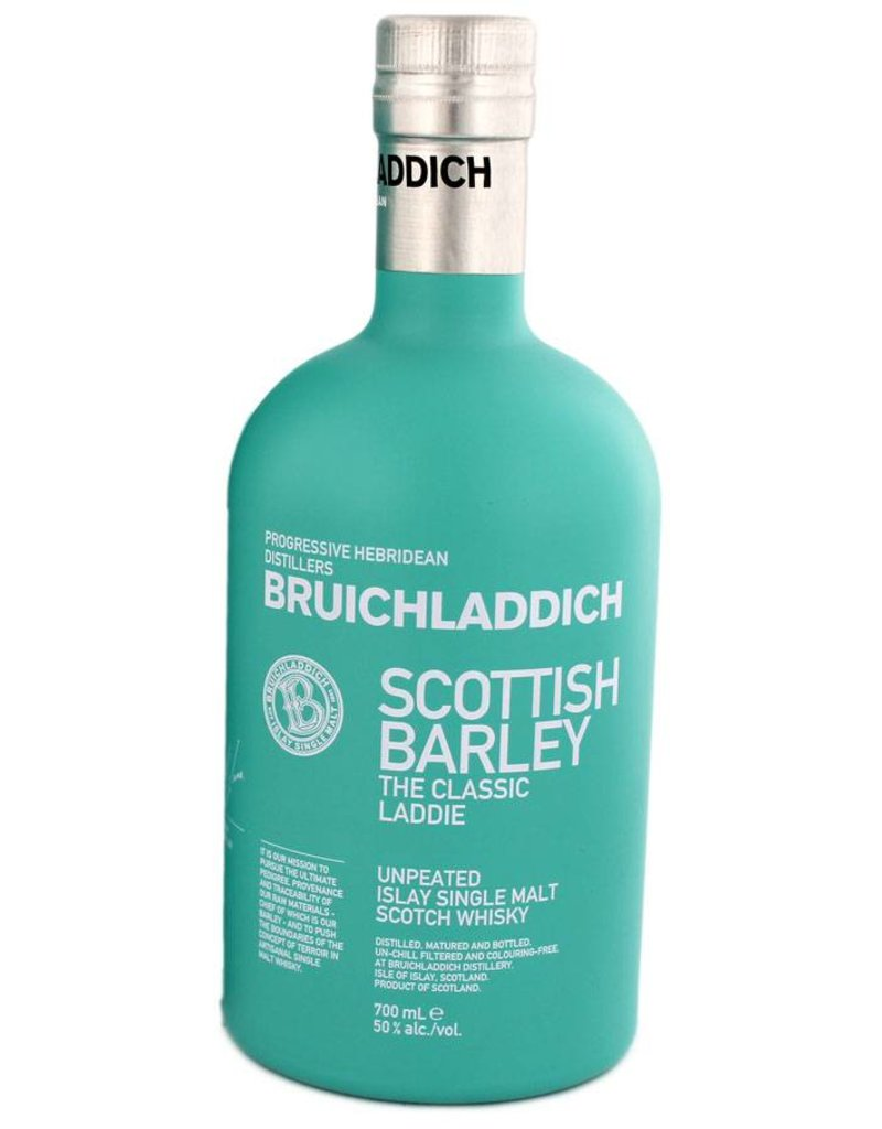 Bruichladdich Scottish Barley Malt Whisky 700ml Gift box