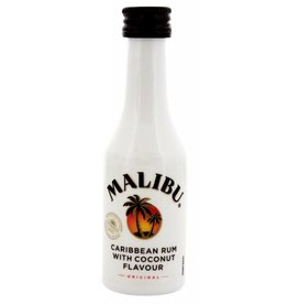 Malibu Coconut Rum Miniatures 50 ml PET