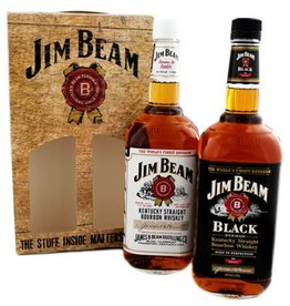Jim Beam Bourbon Whiskey Jim Beam Twinpack