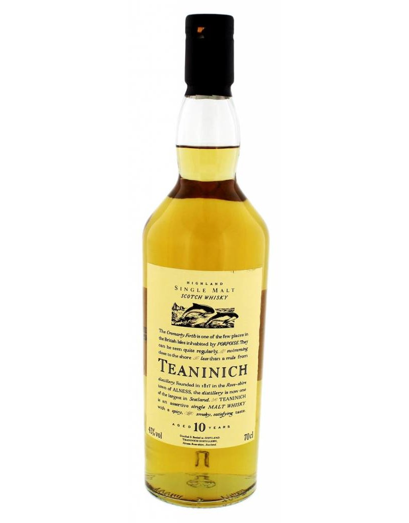 Teaninich Teaninich Flora & Fauna Whisky 10 years old 0,7L 43,0% Alcohol