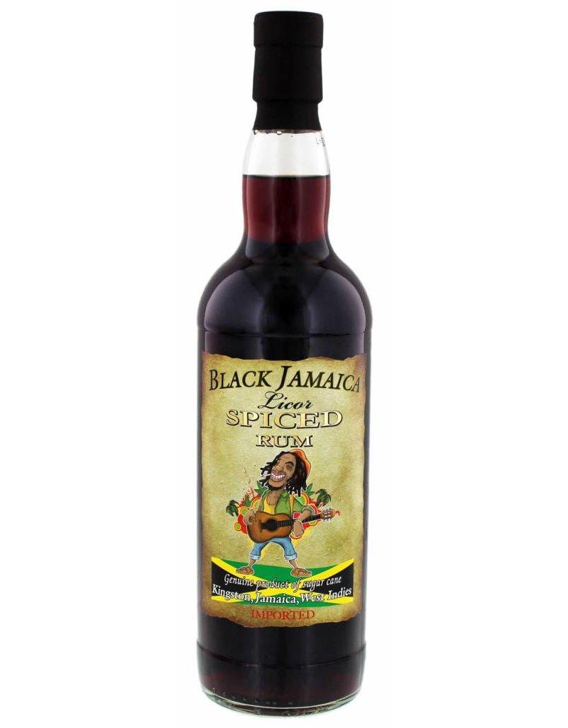 Black Jamaica Liqueur Spiced Rum 0,7L 35,0% Alcohol ...