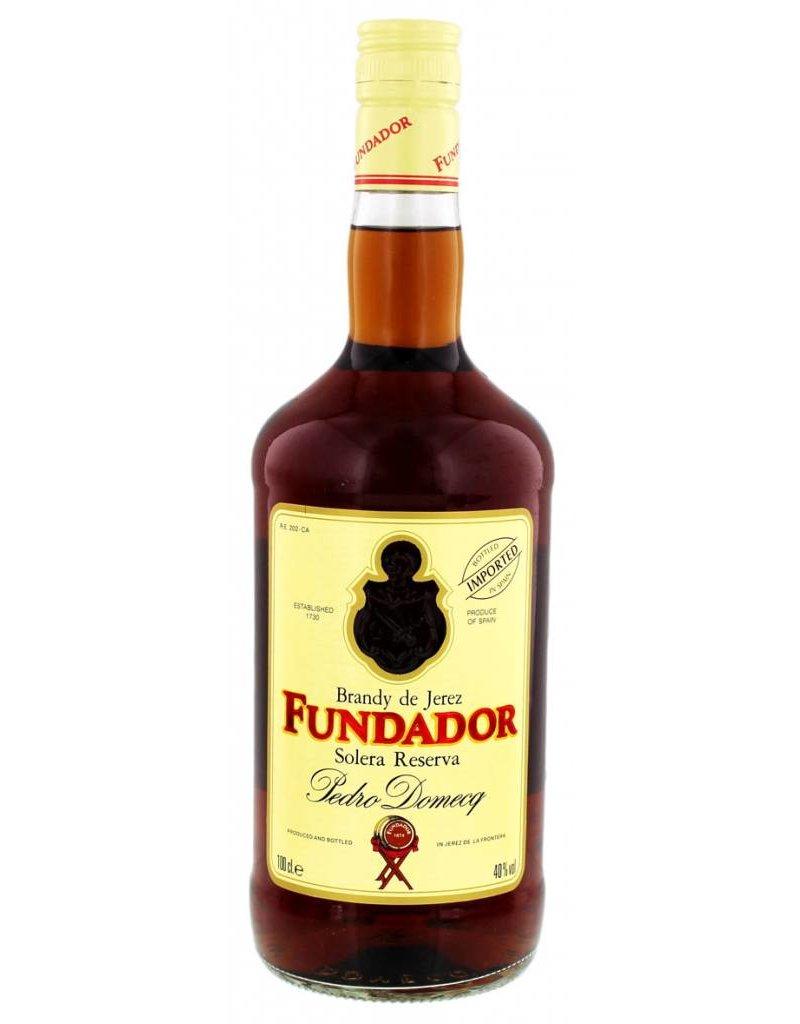 Fundador 1000 ml Brandy Fundador Solera Reserva -
