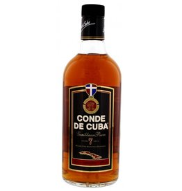 Rum Conde de Cuba 7 Years Old