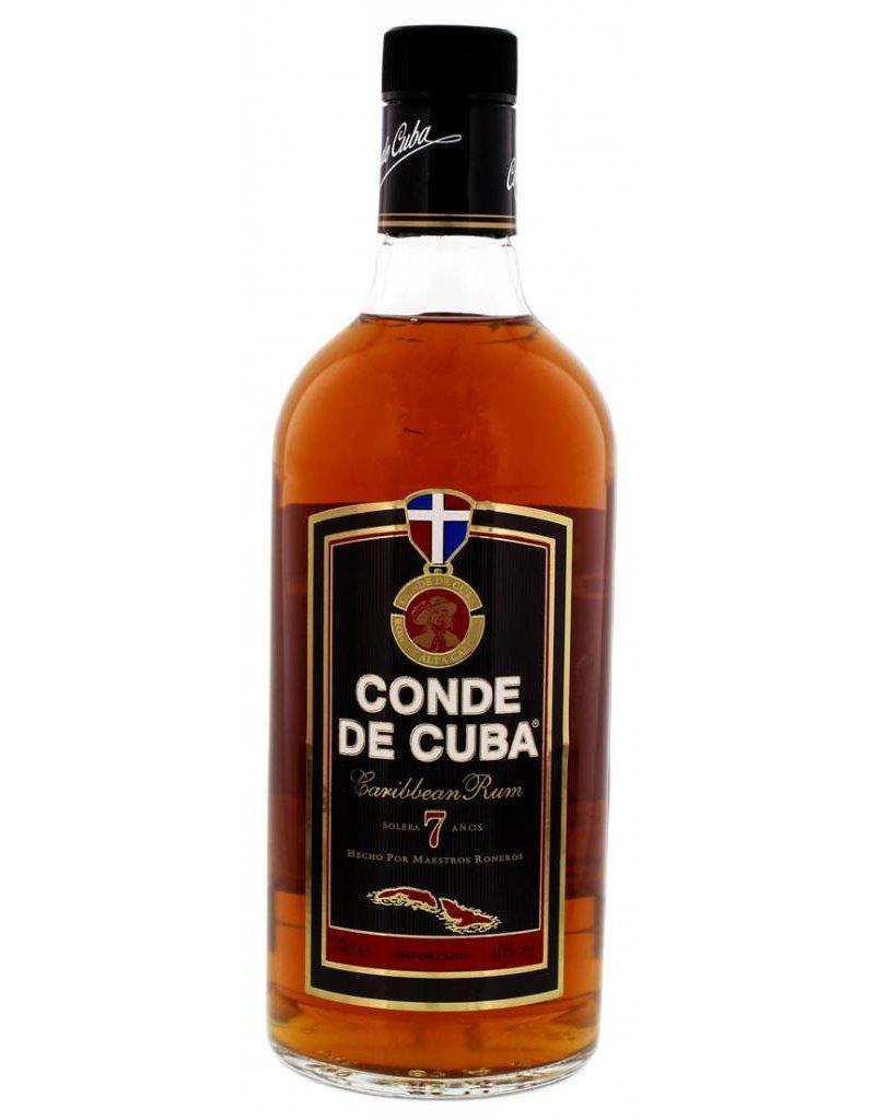 Conde de Cuba 700 ml Rum Conde de Cuba 7 Y.O.