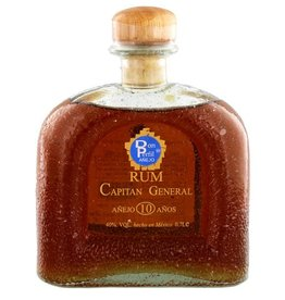 Rum Capitan General Anejo 10 Anos - Mexico
