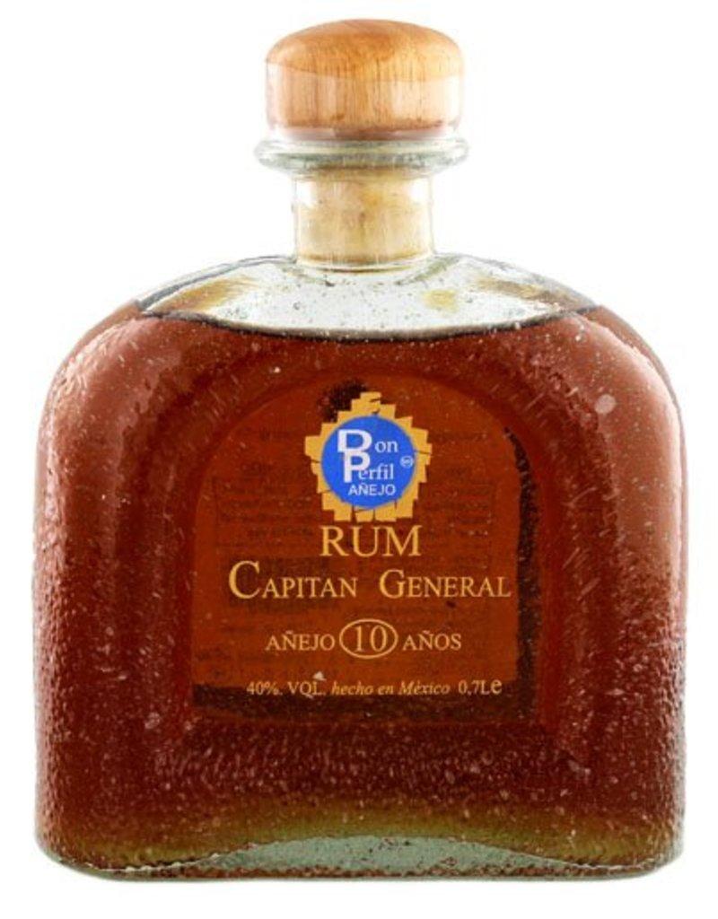 Capitan General 700 ml Rum Capitan General Anejo 10 Anos - Mexico
