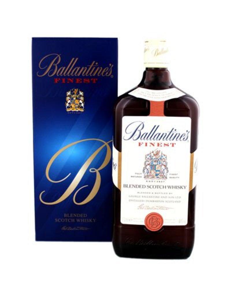 Ballantines Ballantines Finest Whisky 1 Liter Gift box