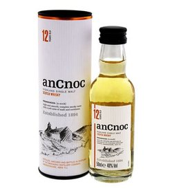 An Cnoc 12 Years Old Malt Whisky Miniatures 50ml Gift box