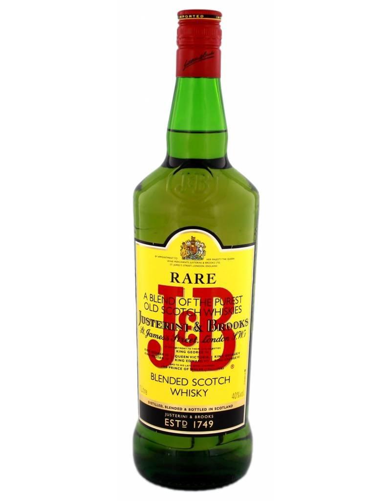 J & B J & B Rare 1,0L 40,0% Alcohol
