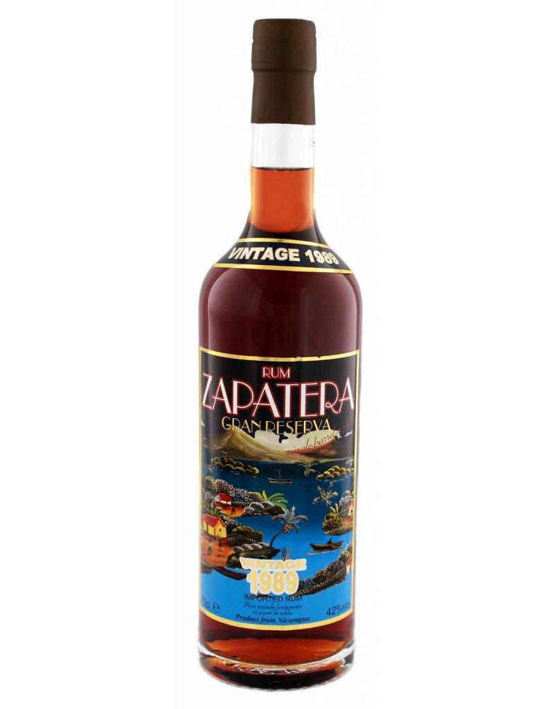 Zapatera 700 ml Rum Zapatera Gran Reserva Vintage 1989 - Nicaragua