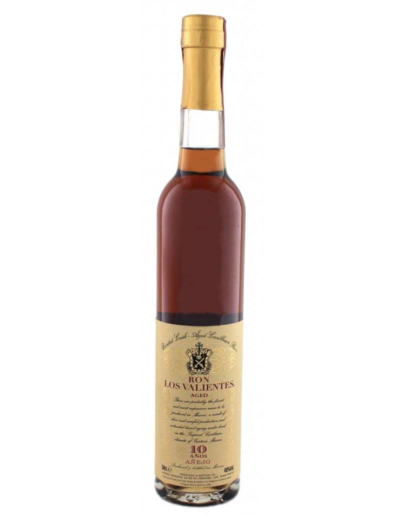 Los Valientes 500 ml Rum Los Valientes 10 Y.O. Anejo Mexico