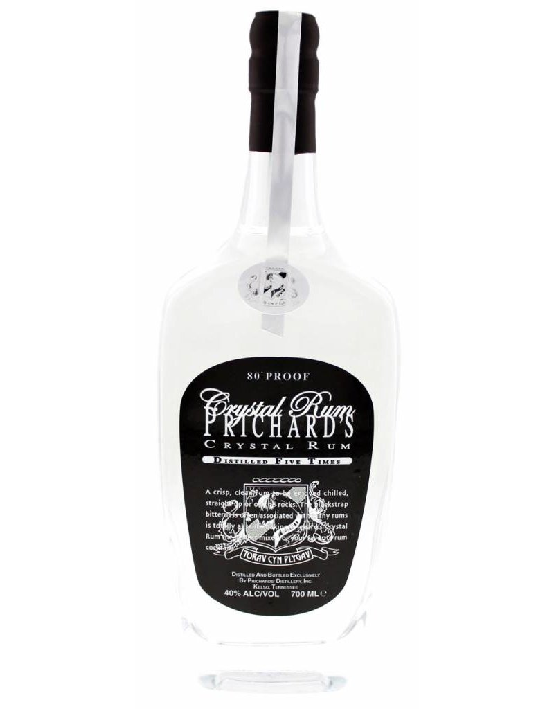 Prichards 750 ml Rum Prichard's Crystal Rum