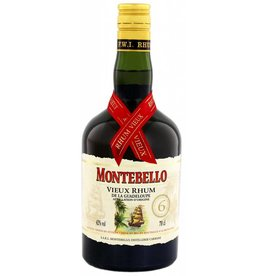 Montebello Vieux 6 Ans Rum - Guadeloupe