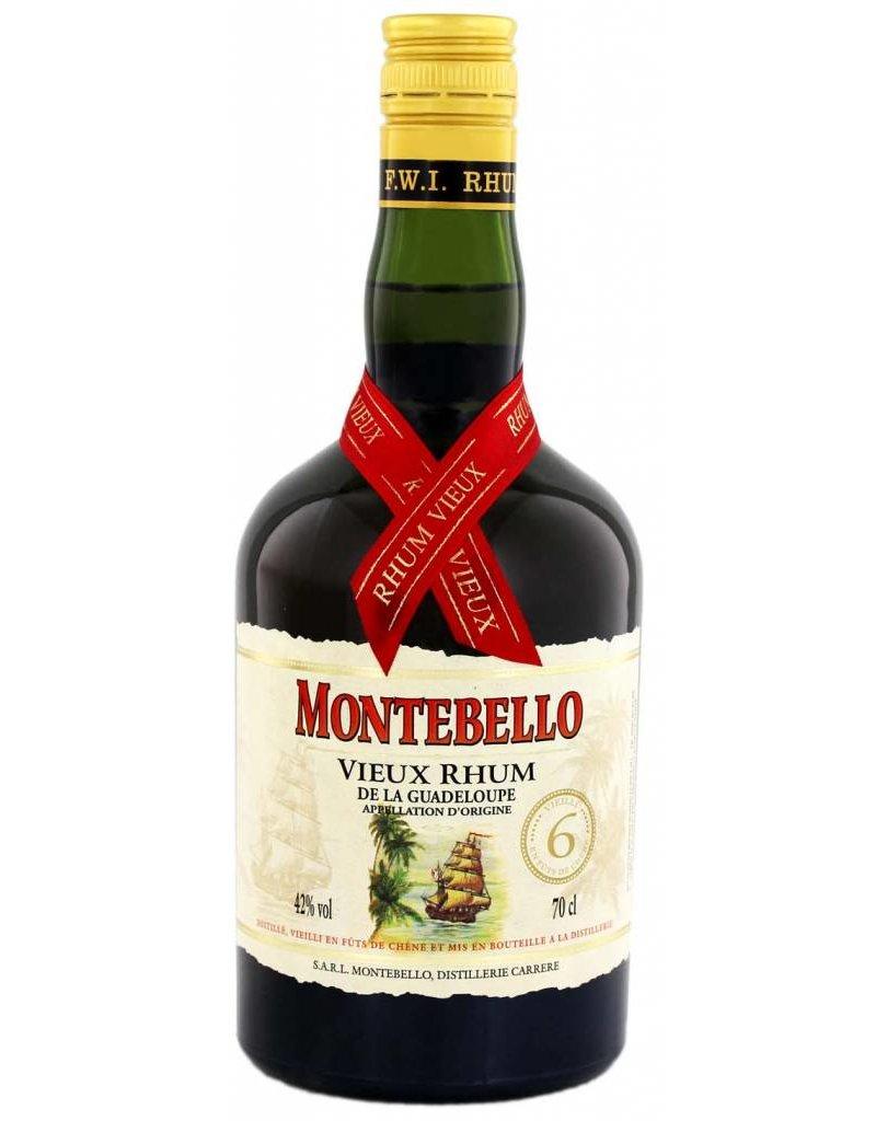 Montebello Montebello Vieux 6 Ans Rum - Guadeloupe 700 ml