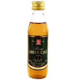 Arehucas Arehucas Ron Club 7 7 Years Old Miniatures 0,05L