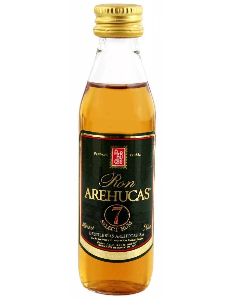Arehucas Arehucas Ron Club 7 7YO Miniatures 0,05L 40,0% Alcohol