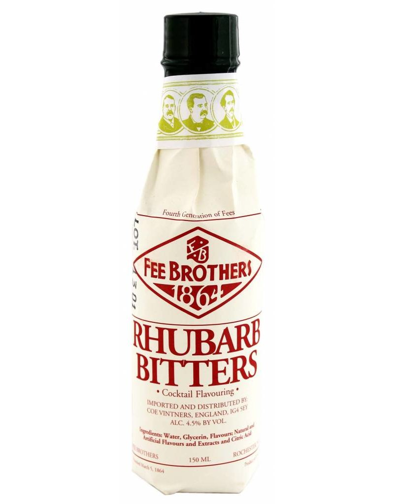 Fee Brothers Fee Brothers Rhubarb Bitters 0,15L 4,5% Alcohol