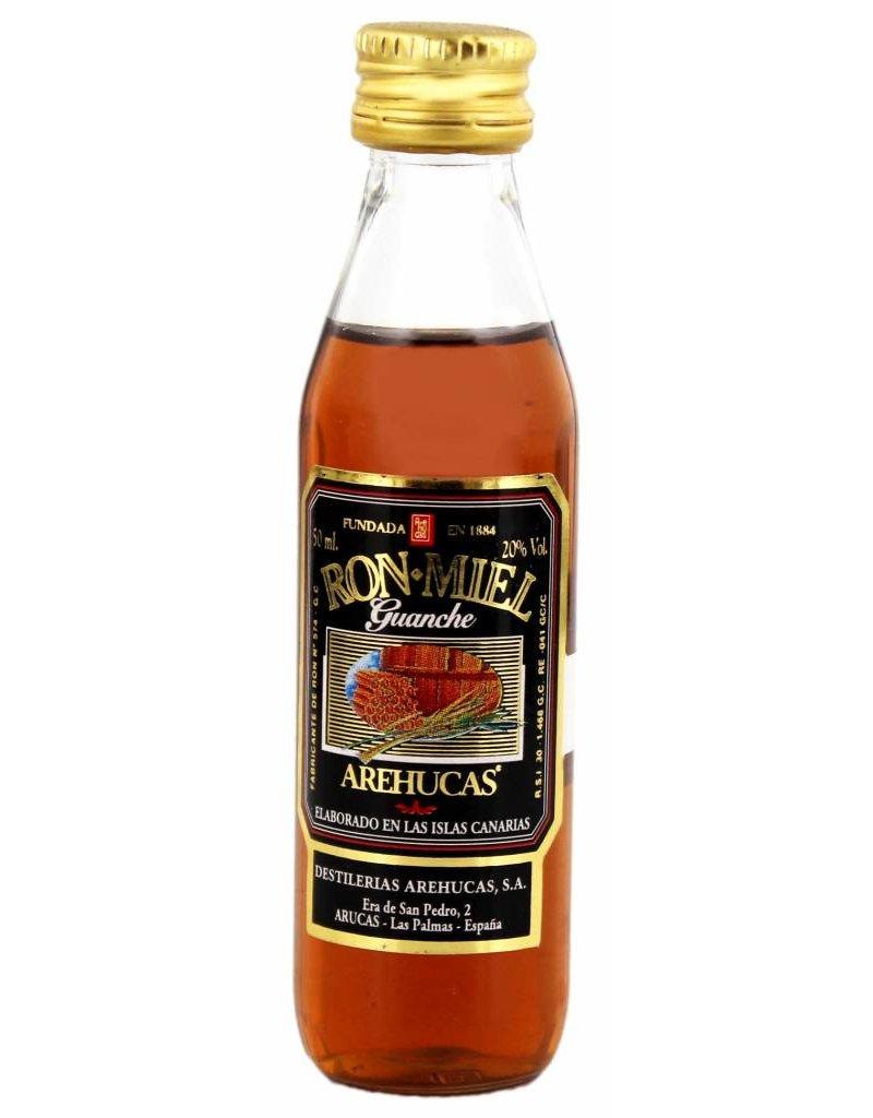 Arehucas Arehucas Guanche Honey Rum Miniatures 0,05L 20,0% Alcohol