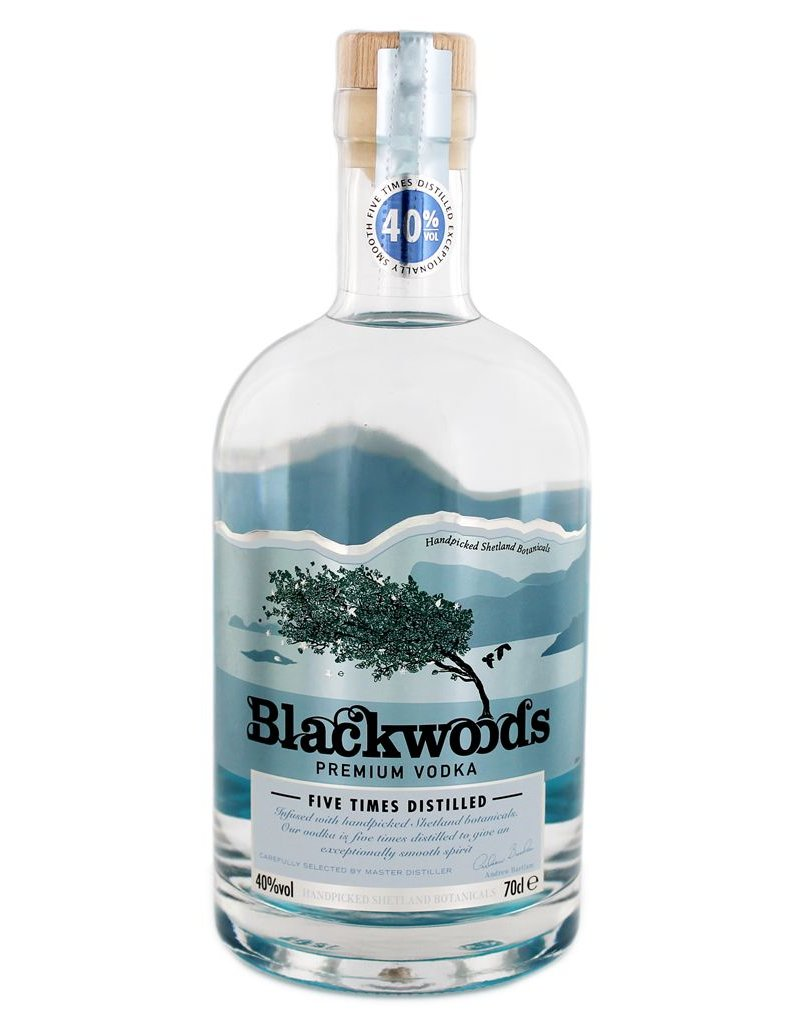 Blackwoods 700 ml Vodka Blackwood`s Vodka - Shetland Islands