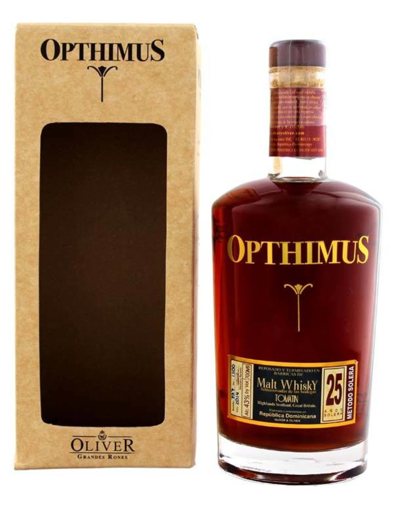 Opthimus Opthimus 25 Years Old Malt Whisky Barrel 700ml Gift box